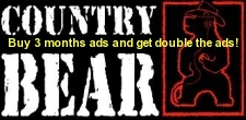 Get double the radio ads here on the CountryBear for a limited time!